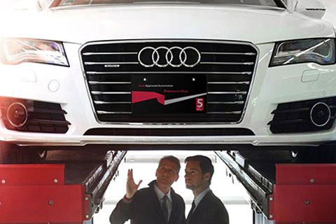 Audi認定中古車の特長
